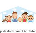 幸福的家庭和家庭 33763662