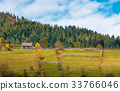 forest, fence, barn 33766046