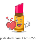 With heart lipstick character cartoon style 33768255