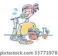 อาหารเช้า 33773978