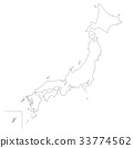 map, of, japan 33774562