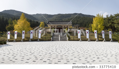 태극기,흥국문,통일전,경주시,경북 33775410