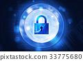 安全性 安全 鎖 33775680