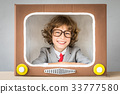 tv, play, smile 33777580