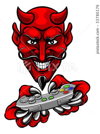 Devil Esports Sports Gamer Mascot 33780176