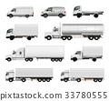 Realistic Cargo Vehicles Set 33780555