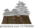 himeji castle, hakuro-jo, white egret castle 33780889