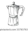 coffee maker vector 33783763