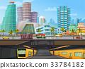 Miami Downtown Metro Rail Poster 33784182