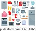 厨房 餐具 电器 33784865