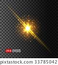 별, 벡터, 효과 33785042