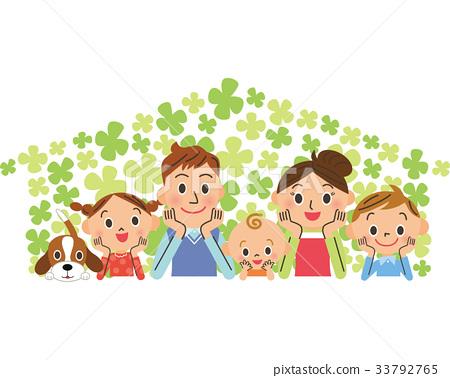 家庭 家族 家人 33792765