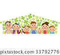 ครอบครัว,โคลเวอร์สี่แฉก,มีความสุข 33792776
