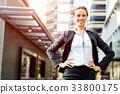 女企业家 女性白领 女商人 33800175