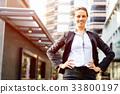 女企业家 女性白领 女商人 33800197