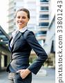 女企业家 女性白领 女商人 33801243