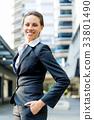 女企业家 女性白领 女商人 33801490