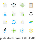 Internet and Website Icons. 33804501