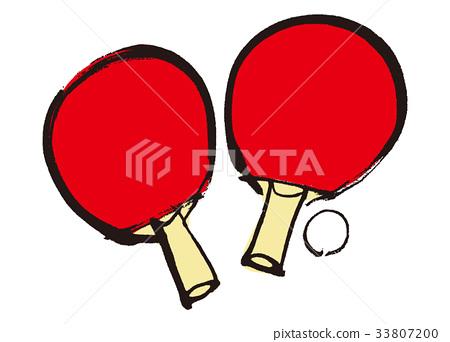 桌球 乒乓球 網球拍 33807200