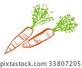 胡蘿蔔 水彩 水彩畫 33807205