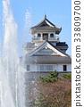nagahama castle, castle, castles 33809700