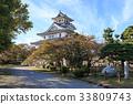 nagahama castle, castle, castles 33809743