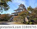 nagahama castle, castle, castles 33809745