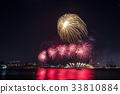 불꽃놀이,63빌딩,한강철교,한강시민공원,여의도,영등포구,한강,서울 33810884