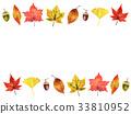 秋天 秋 樹葉 33810952