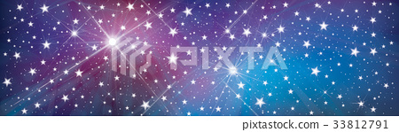 Vector starry, sparkle, holiday background. 33812791