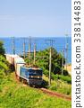 貨運列車 夏天 夏 33814483