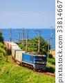 貨運列車 夏天 夏 33814667