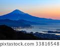 富士山 日本平原 日出 33816548