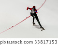 female athlete speed skater 33817153