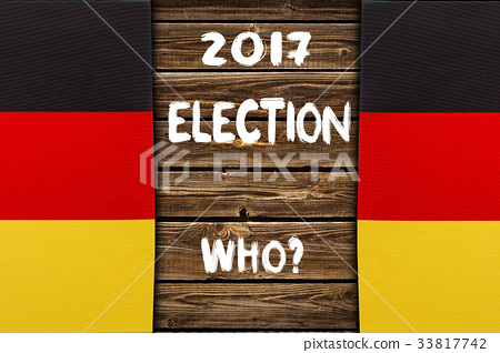 Election in Germany, 2017. political concept 33817742