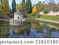 turret, autumn, park 33820380