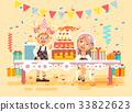 Vector illustration cartoon characters children 33822623