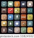 icon vector classroom 33824502