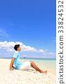 海滩 海岸 海滨 33824532