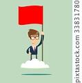 proud, flag, man 33831780