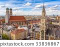 Munich city skyline at Marienplatz, Germany 33836867