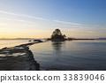 새벽, 소등섬, 장흥군 33839046