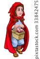 Little Red Riding Hood Fairy Tale Character 33842475