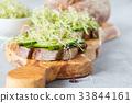 healthy, sandwich, snack 33844161
