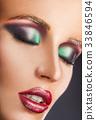 Fashion make-up 33846594