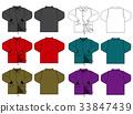 尼龍夾克/員工跳線圖/顏色變化 33847439