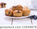 blueberry muffin food 33848878
