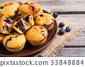 blueberry muffin food 33848884