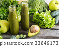 green, smoothie, juice 33849173