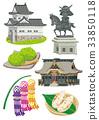 miyagi prefecture, vector, vectors 33850118
